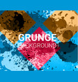 grunge banner color concept geometric vector image
