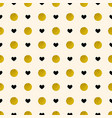 pattern with golden circles vector image