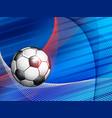 soccer championship abstract colorful background vector image vector image