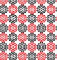 Tribal art ethnic seamless pattern Boho print vector image