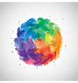 watercolor vector image