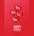 007 - poster valentine vector image vector image