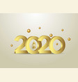 2020 background for your seasonal flyers and vector image vector image