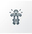 exoskeleton icon line symbol premium quality vector image vector image