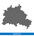 high quality map city germany vector image vector image