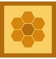 Icon image honeycomb 4 vector image vector image