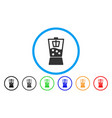 kitchen mixer flat icon vector image