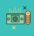 money icon set of great flat icons use for vector image