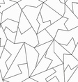 monochrome mosaic seamless pattern vector image vector image