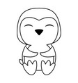 penguin cute animal cartoon icon image