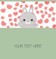 rabbit rabbit vector image vector image