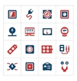 Set color icons of electricity vector image vector image