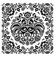 Sqaure-polish-folk-pattern-1b-monochrome