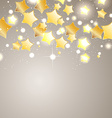star background design vector image vector image