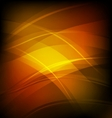abstract background with orange line wave