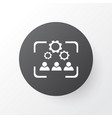 cooperation icon symbol premium quality isolated vector image vector image