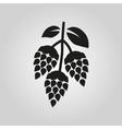 Hops icon Beer and hop symbol UI Web Logo vector image