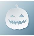 Paper Pumpkin vector image vector image
