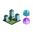 Real Estate logo design template building or vector image
