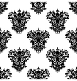 Seamless floral decorative pattern vector image vector image