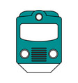 subway transport fast flat vector image
