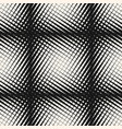 halftone geometric seamless crossing pattern vector image vector image