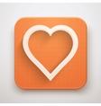 Heart Icon Premium vector image vector image