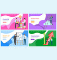 teamwork successful team achieving high results vector image vector image