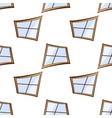 white windows seamless vector image