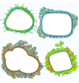doodle frames vector image vector image