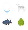 green ecology business and other web icon in vector image vector image
