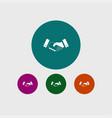 handshake icon simple vector image