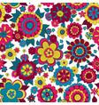 hippie flowers vector image