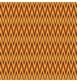 Zigzag abstract orange wrapping pattern vector image