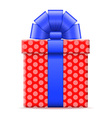 gift box 02 vector image vector image