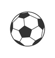 icon of soccer football ball vector image