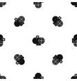 industrial fan heater pattern seamless black vector image vector image