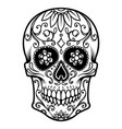 Mexican sugar skull day of the dead dia de los