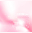 pink and white soft abstract background blend and vector image vector image