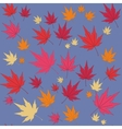 Seamless leaf ornament 553 vector image vector image