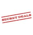 Secret Deals Watermark Stamp vector image vector image