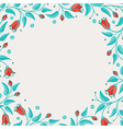Template for birthday card or invitation vector image