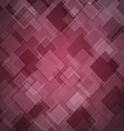 Abstract maroon background with rhombus vector image vector image