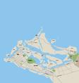 Abu Dhabi Map vector image