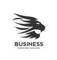 best lion head logo vector image vector image