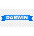 Blue stripe with darwin title