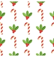 Christmas background seamless pattern with vector image
