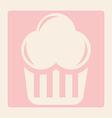 dessert design vector image vector image