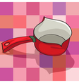 kitchen kettle vector image vector image