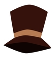 Tall hat vector image